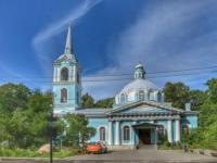 Смоленская церковь на Смоленском православном кладбище