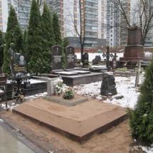 Захоронение гроба на свободное место ( 1,5 м x 2 м)