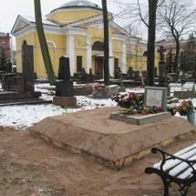 Захоронение гроба на свободное место (2м x 2м)