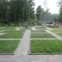Подготовленные участки Смоленского православного кладбища